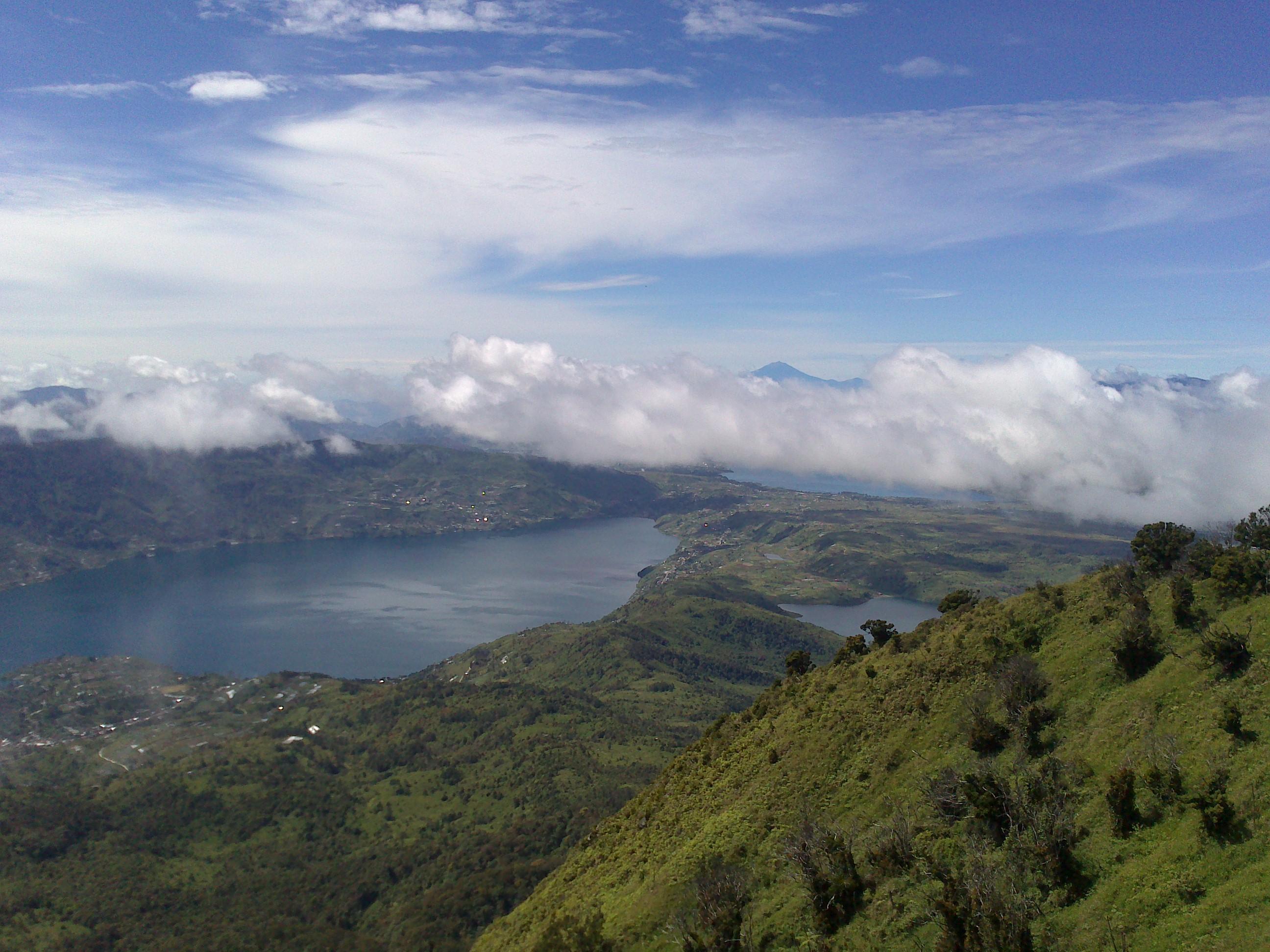 Pemandangan indah Gunung Kerinci